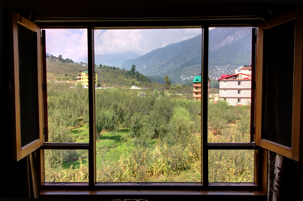 Apple Orchirds & Mountain View From Room